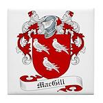 MacGill Family Crest Tile Coaster