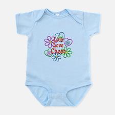 Live Love Cheer Infant Bodysuit