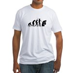 Thinker Evolution Fitted T-Shirt