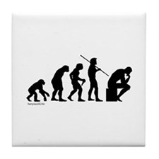 Thinker Evolution Tile Coaster