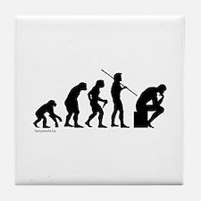 Thinker Evolution Tile Coaster