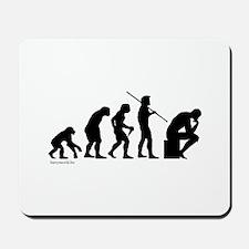 Thinker Evolution Mousepad