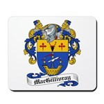 MacGillivray Family Crest Mousepad