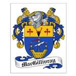 MacGillivray Family Crest Small Poster