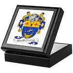 MacGillivray Family Crest Keepsake Box