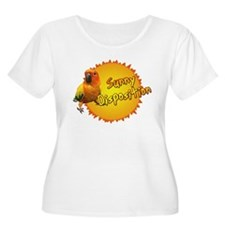 Sunny Sun Conure Women's Plus Size Scoop Neck Tee
