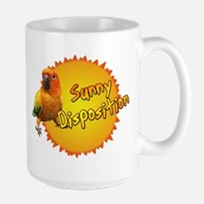 Sunny Sun Conure Large Mug