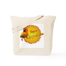 Sunny Sun Conure Tote Bag