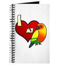 Love Sun Conure Journal
