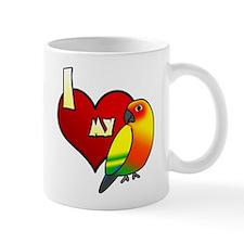 I Love my Sun Conure Mug