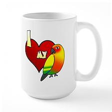 Love Sun Conure Mug