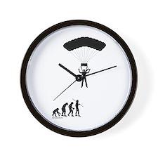 Sky Diver Evolution Wall Clock