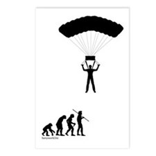 Sky Diver Evolution Postcards (Package of 8)