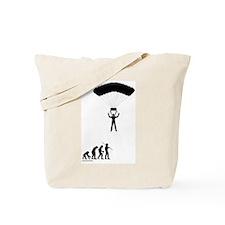 Sky Diver Evolution Tote Bag