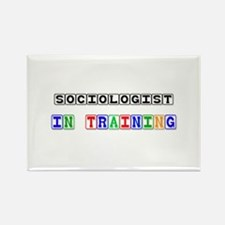 Sociologist In Training Rectangle Magnet