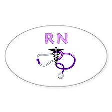RN Nurse Medical Decal