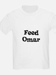 Feed Omar Kids T-Shirt
