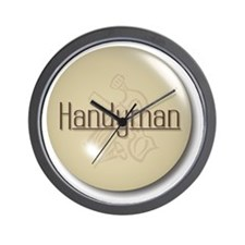 Handyman Wall Clock