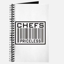 Chefs Priceless Barcode Journal