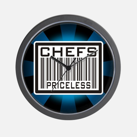 Chefs Priceless Barcode Wall Clock