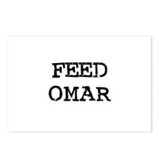 Feed Omar Postcards (Package of 8)
