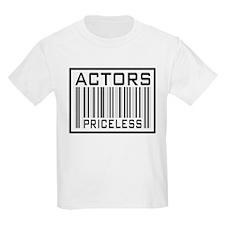 Actors Priceless Barcode T-Shirt