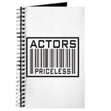 Actors Priceless Barcode Journal