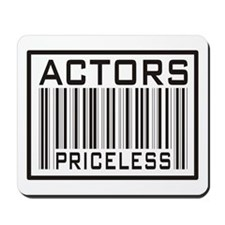 Actors Priceless Barcode Mousepad