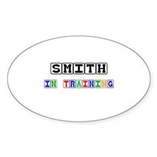 Smith In Training Oval Decal