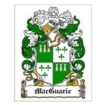 MacGuarie Family Crest Small Poster