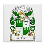 MacGuarie Family Crest Tile Coaster