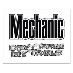 Mechanic Don't Touch My Tools Posters