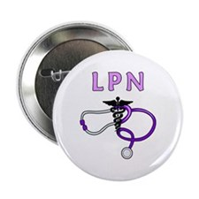 """LPN Medical Nursing 2.25"""" Button"""
