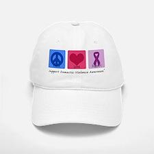 Peace Love DV Baseball Baseball Cap
