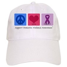 Peace Love DV Baseball Cap