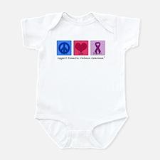 Peace Love DV Infant Bodysuit