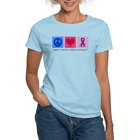 Peace Love DV Women's Light T-Shirt