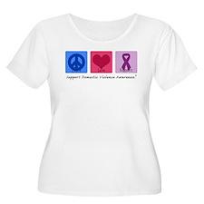 Peace Love DV T-Shirt