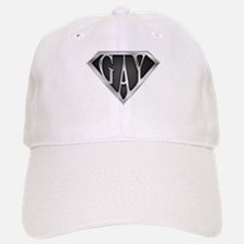 SuperGay(Metal) Baseball Baseball Cap