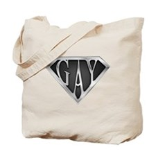 SuperGay(Metal) Tote Bag