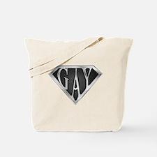 SuperGay(Metal) Tote Bag