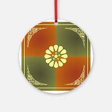 DAISY Round Ornament