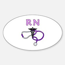 RN Nurse Medical Decal
