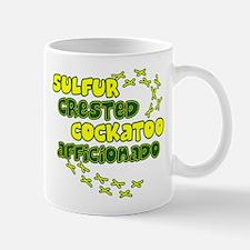Afficionado Sulfur Crested Cockatoo Mug