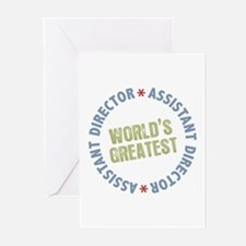 World's Greatest Assistant Director Greeting Cards