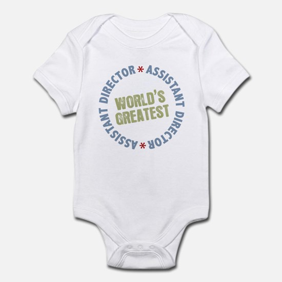 World's Greatest Assistant Director Infant Bodysui
