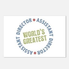 World's Greatest Assistant Director Postcards (Pac