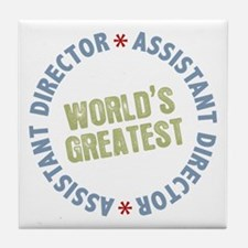 World's Greatest Assistant Director Tile Coaster