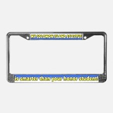 Honor Student SI Eclectus License Plate Frame