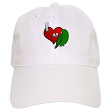 I Love My Solomon Island Eclectus Hat (Male)